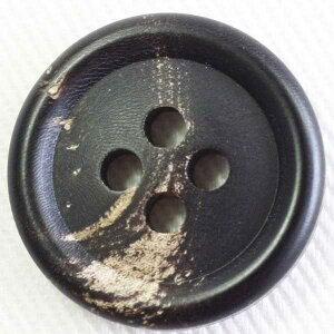 本水牛ボタン(HB120-DB)18mm 手作り、手芸、釦付け替え)に