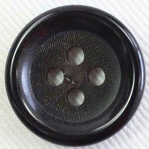 本水牛ボタン(HB190-DB)18mm 手作り、手芸、釦付け替え)に