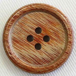 木(ウッド)ボタン K-1100 13mm 10個入 手作り、手芸、釦付け替え)に