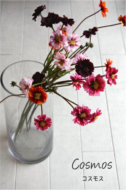 コスモス 八重 造花 インテリア 31978