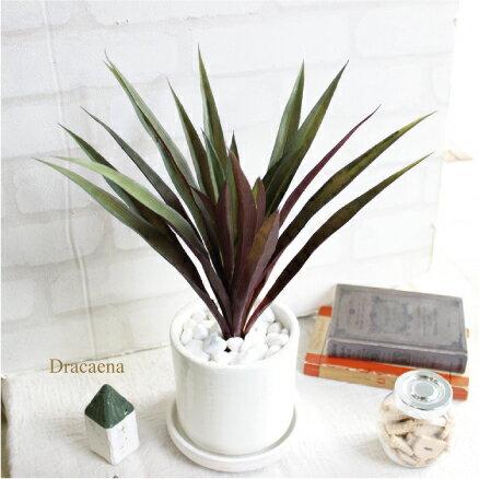 ドラセナ 30cm 造花 観葉植物 フェイクグリーン 人工観葉植物 ンテリア CT触媒