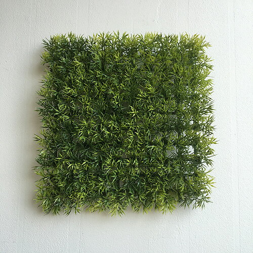 グラスマット 41816 グリーンウォール フェイクグリーン 壁掛 造花 インテリア 男前インテリア ナチュラル シンプル