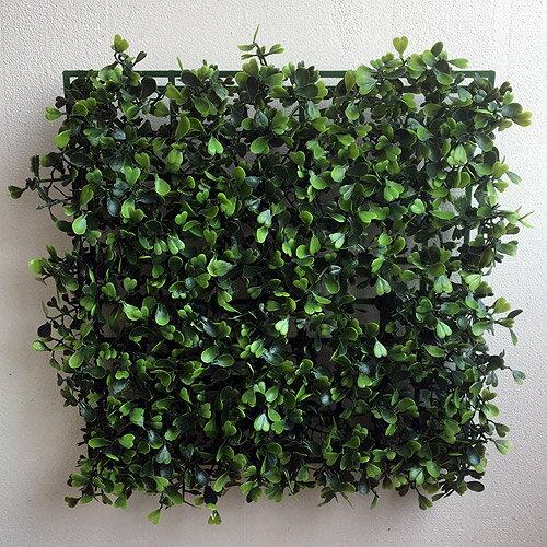 ボックスウッドマット 42266 グリーンウォール フェイクグリーン 壁掛 造花 インテリア 男前インテリア ナチュラル シンプル