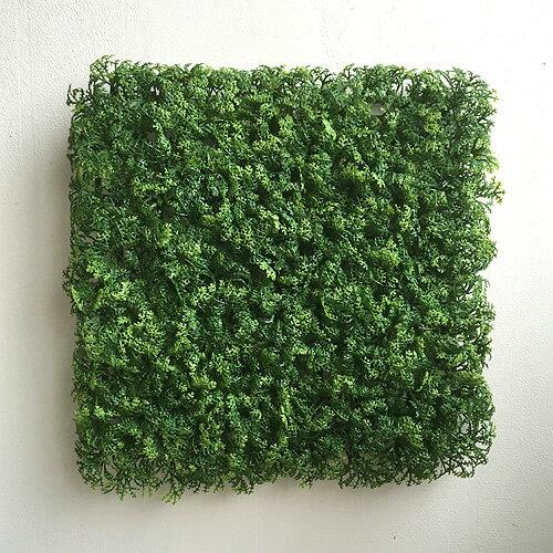 ウォーターリーフマット 5338 グリーンウォール フェイクグリーン 壁掛 造花 インテリア 男前インテリア ナチュラル シンプル