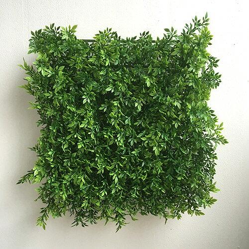【再入荷しました】ティーリーフマット 5339 グリーンウォール フェイクグリーン 壁掛 造花 インテリア 男前インテリア ナチュラル シンプル