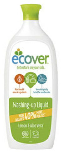 植物&ミネラル由来原料ベース環境と手肌にやさしい洗剤エコベール 食器用洗剤レモン 【1000ml 】
