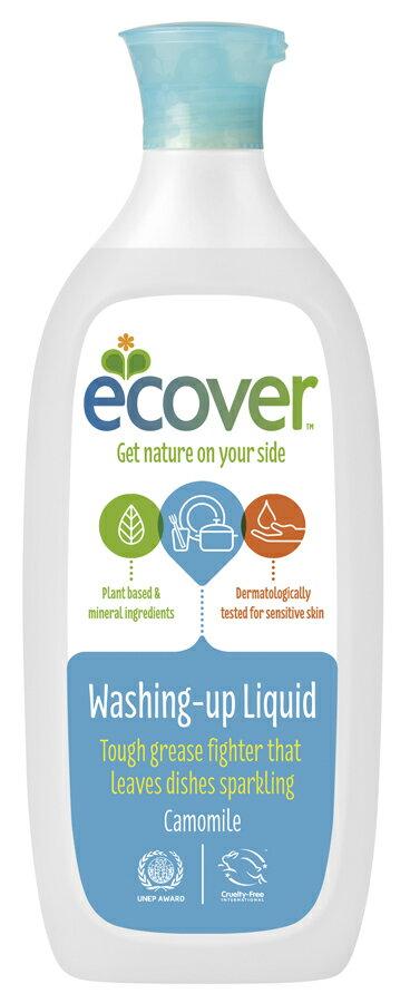 植物&ミネラル由来原料ベース環境と手肌にやさしい洗剤エコベール 食器用洗剤カモミール 500ml