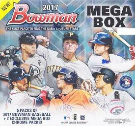 ba3b2a399d6 送料無料 MLB 2017 BOWMAN MEGA BOX CHROME BASEBALL ボックス