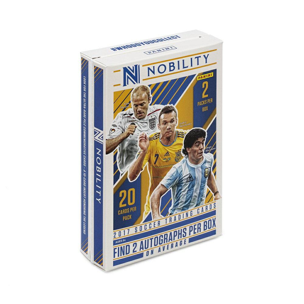 2017/18 PANINI NOBILITY SOCCER[ボックス](34-89766)