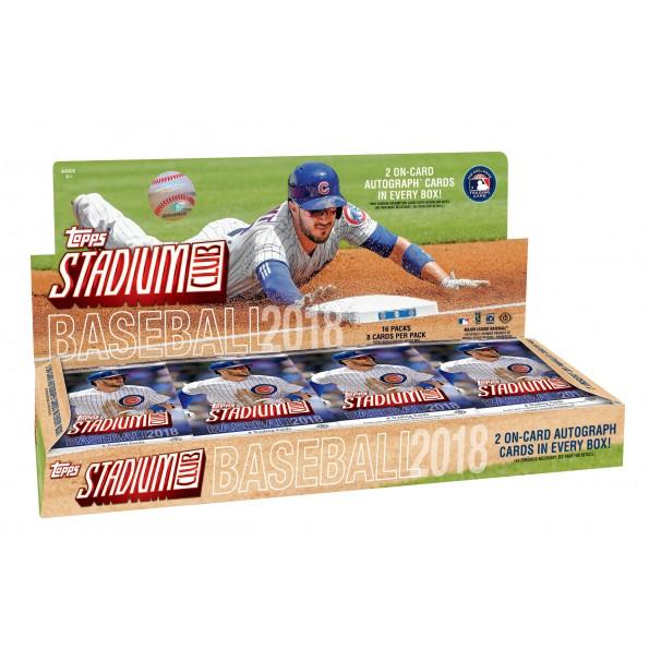 MLB 2018 TOPPS STADIUM CLUB BASEBALL[ボックス]