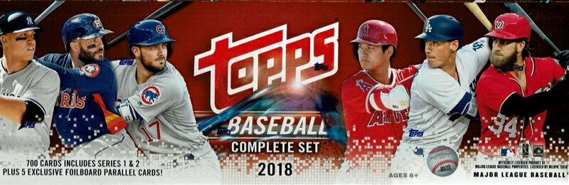 MLB 2018 TOPPS BASEBALL COMPLETE SET HOBBY[ボックス]