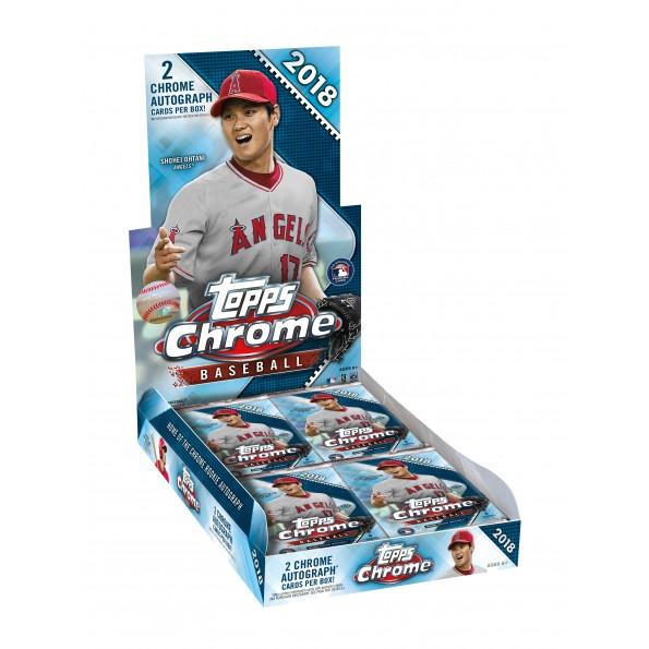 MLB 2018 TOPPS CHROME BASEBALL HOBBY[ボックス]