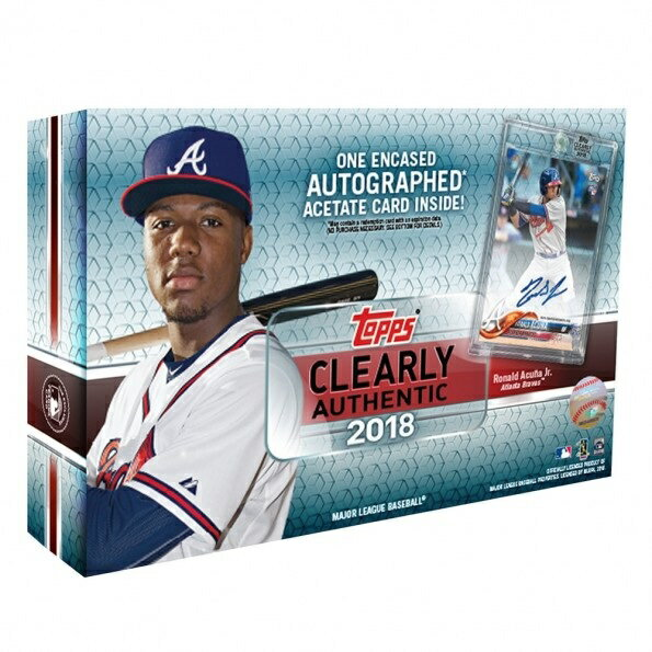 MLB 2018 TOPPS CLEARLY AUTHENTIC BASEBALL[ボックス]