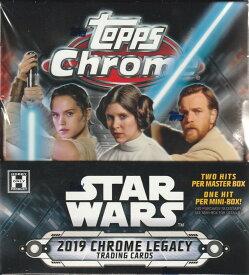 2019 TOPPS STAR WARS CHROME LEGACY[ボックス]