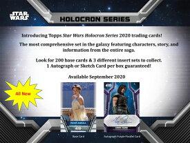 ◆予約◆2020 TOPPS STAR WARS HOLOCRON 映画「スターウォーズ」シリーズ[ボックス]