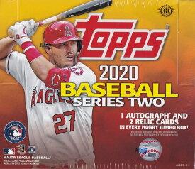 MLB 2020 TOPPS SERIES 2 BASEBALL JUMBO[ボックス]