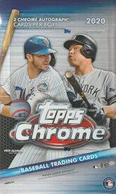MLB 2020 TOPPS CHROME BASEBALL HOBBY[ボックス]