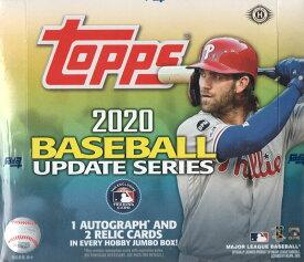 MLB 2020 TOPPS UPDATE BASEBALL JUMBO[ボックス]