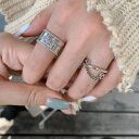 指輪 リング フリーサイズ シルバー925 チェーン シンプル 韓国(レディース メンズ ファッションリング)プレゼント …