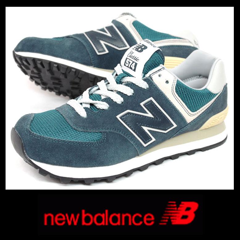 ニューバランス ML574 VNNB ネイビー レディース 正規品newbalance 574 NAVY【RCP】