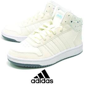 adidas アディダス アディフープス ADIHOOPS MID K 2.0 白 ホワイト ハイカット ミッドカットスニーカー ダンス シューズ バッシュ B75751 【RCP】