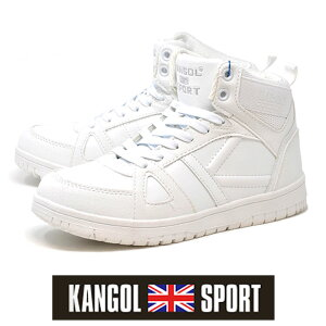 ハイカット 防水スニーカー 4060 カンゴール スポーツ スニーカー 白 ホワイト レインスニーカー メンズ レインシューズ 雨 靴