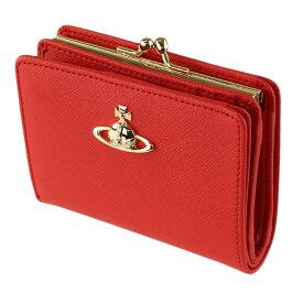 ヴィヴィアン ウエストウッド 折りたたみ財布 VIVIENNE WESTWOOD 51010038-41469 H401 レッド系 財布・小物 レディース