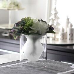 【Philippi】【サイズS】エスメラルダ<花瓶>【MIRAGE-STYLE】スタイリッシュモダンインテリアフラワーベース/花器/MODERNフラワーベース