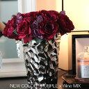 シルバーcolor モダンシックなフラワーベース 【サイズL】花器 花瓶 かわいい おしゃれ モダン プレゼント 贈り物 お…