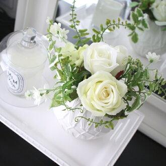 卡西玫瑰混合物花束MODERN室內裝飾絲綢花藝術花