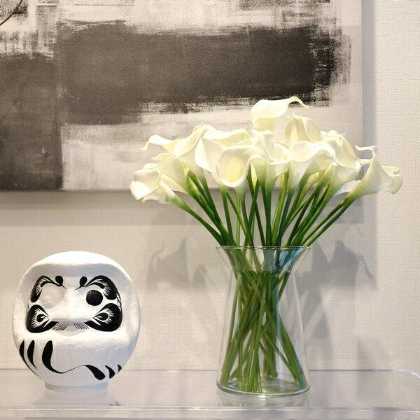 【10本単位】 【MODERNインテリアシルクフラワーアート】花 フラワー シルクフラワー アートフラワー アーティフィシャルフラワー インテリア ユリ 白 ホワイト 可愛い かわいい おしゃれ オシャレ プレゼント 贈り物 flower renew live