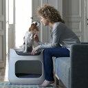 ペット BUNKBED(バンクベッド) 3way キャリーバッグ&ペットハウス ベージュ MODERN【MIRAGE-STYLE ペット/犬/猫/ハウス/クッション/KET…