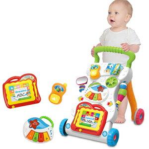 知育玩具にも使える歩行器 赤ちゃん 6か月〜18か月