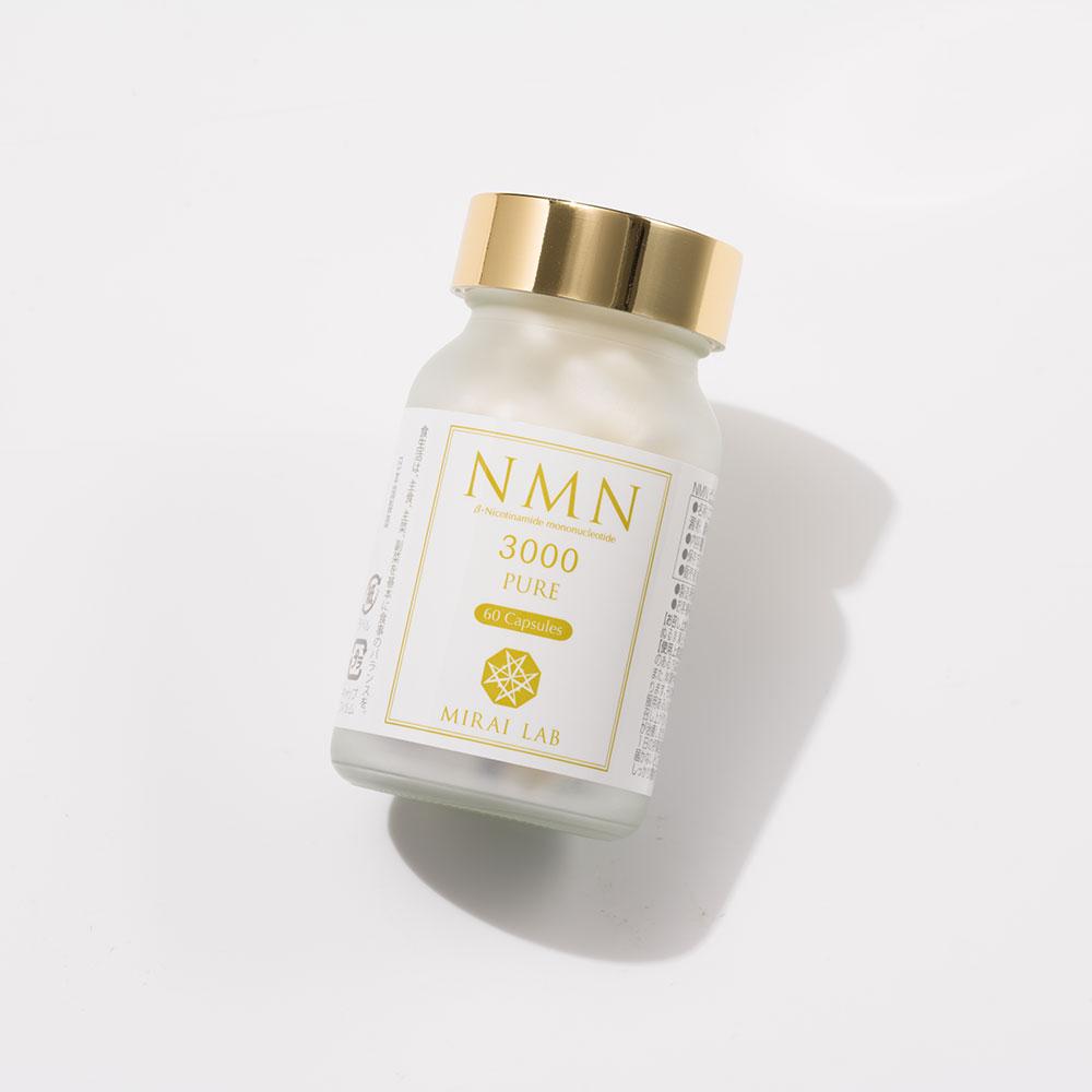 NMN PURE 3000。NMN「高配合」サプリメント。