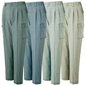 94302 自重堂 Mr.Jic ツータックカーゴパンツ 作業ズボン 綿100% 春夏用 吸汗速乾 安い格安作業着