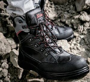 XEBEC ジーベック 85205 安全靴 セーフティシューズ 衝撃吸収 軽量化 抗菌防臭中底 樹脂先芯 サイドファスナー仕様なので着脱簡単 トレッキングシューズを思わせようなデザイン