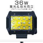 LED作業灯36w