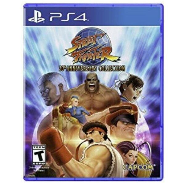 PS4 Street Fighter 30th Anniversary Collection ストリートファイター30thアニバーサリーコレクション 輸入版 北米