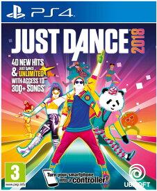 ジャストダンス Just Dance 2018 (PS4) (輸入版)【新品】