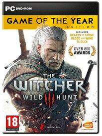 ウィッチャー 3 The Witcher 3 Game of the Year Edition PC DVD 輸入版【新品】