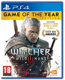 The Witcher 3 Game of the Year Edition (PS4) (輸入版)【新品】