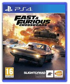 Fast & Furious Crossroads ワイルド・スピードシリーズ (輸入版) - PS4【新品】