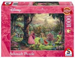 ジグソーパズル 1000ピース ディズニー トーマス・キンケード Thomas Kinkade Disney Sleeping Beauty 1000 Piece Jigsaw Puzzle 輸入品【新品】