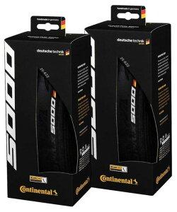 Continental(コンチネンタル) Grand Prix 5000 クリンチャータイヤ 700x32C 2本セット 輸入品【新品】