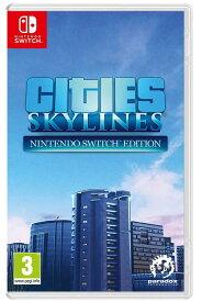 シティーズスカイライン Cities: Skylines (Nintendo Switch) (輸入版)【新品】