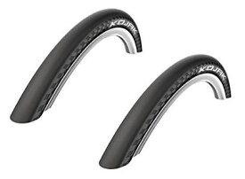 2本セット SCHWALBE(シュワルベ) KOJAK コジャック 18×1.25(32-355) フォールディングタイヤ (ブラック) 輸入品【新品】