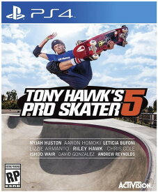 トニー ホーク プロスケーター 5 Tony Hawk Pro Skater 5 (輸入版:北米) - PS4【新品】