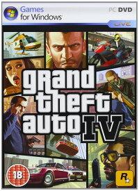 「マラソン限定!エントリーで店内全品ポイント+2倍」Grand Theft Auto IV グランド・セフト・オートIV (輸入版:PC)【新品】