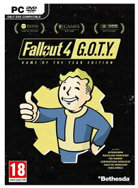 Fallout 4 Game of the Year Edition (PC DVD) (輸入版)【新品】