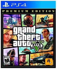 グランドセフトオート5 Grand Theft Auto V Premium Online Edition - PlayStation 4 Standard Edition (輸入版)- PS4【新品】